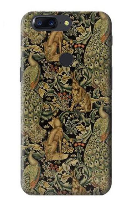 S3661 William Morris Forest Velvet Case For OnePlus 5T