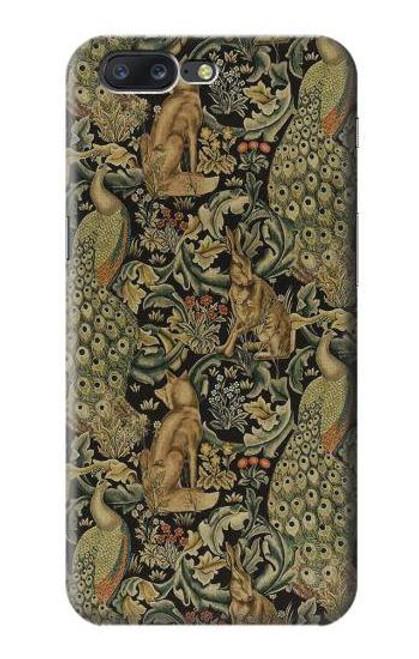 S3661 William Morris Forest Velvet Case For OnePlus 5
