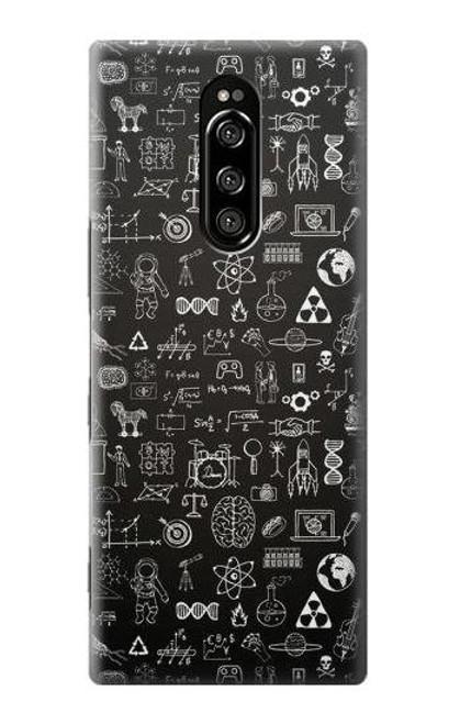 S3426 Blackboard Science Case For Sony Xperia 1