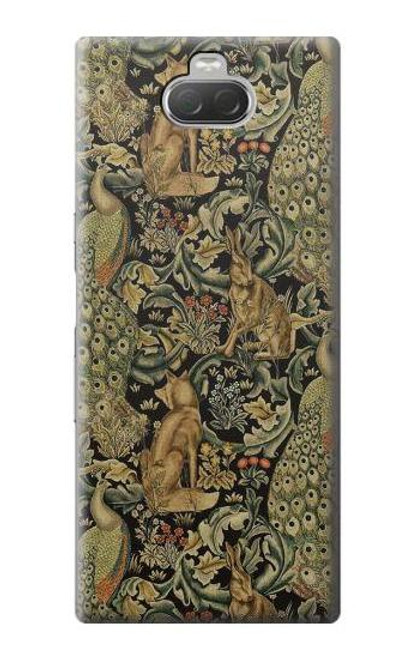 S3661 William Morris Forest Velvet Case For Sony Xperia 10