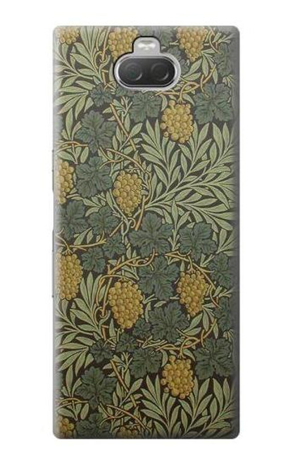 S3662 William Morris Vine Pattern Case For Sony Xperia 10