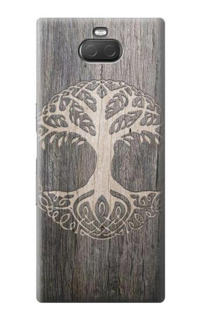 S3591 Viking Tree of Life Symbol Case For Sony Xperia 10 Plus