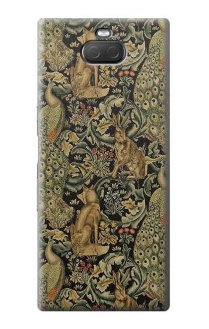 S3661 William Morris Forest Velvet Case For Sony Xperia 10 Plus