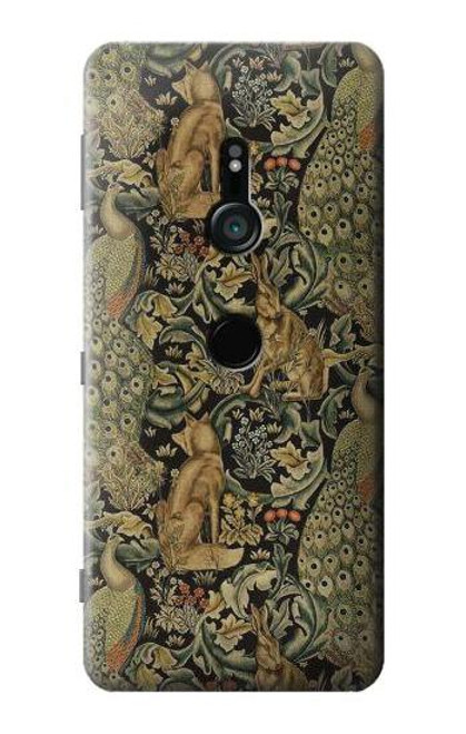 S3661 William Morris Forest Velvet Case For Sony Xperia XZ3