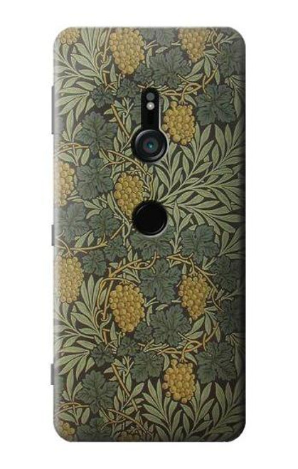 S3662 William Morris Vine Pattern Case For Sony Xperia XZ3