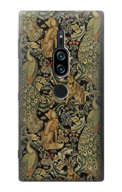 S3661 William Morris Forest Velvet Case For Sony Xperia XZ2 Premium