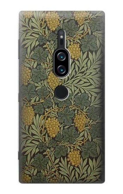 S3662 William Morris Vine Pattern Case For Sony Xperia XZ2 Premium