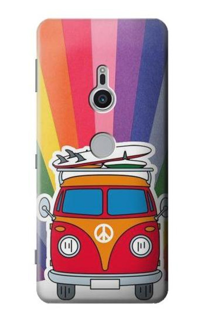 S3488 Hippie Van Case For Sony Xperia XZ2