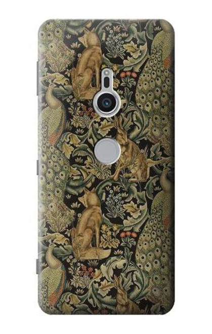 S3661 William Morris Forest Velvet Case For Sony Xperia XZ2