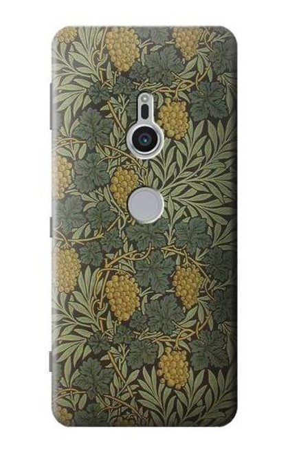 S3662 William Morris Vine Pattern Case For Sony Xperia XZ2