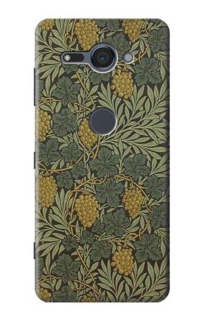 S3662 William Morris Vine Pattern Case For Sony Xperia XZ2 Compact