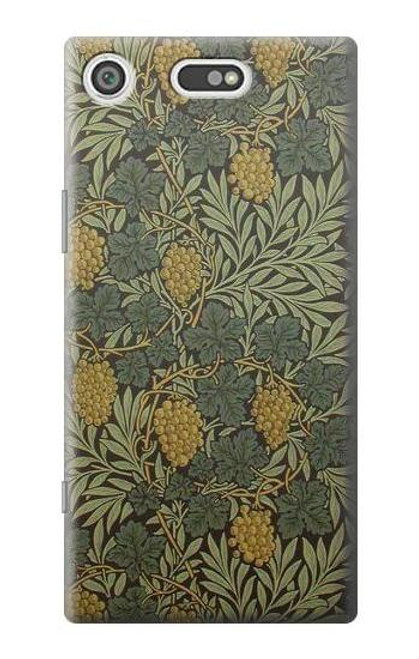 S3662 William Morris Vine Pattern Case For Sony Xperia XZ1