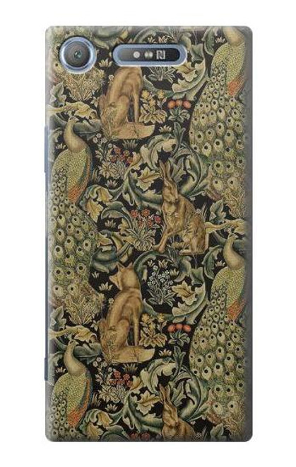 S3661 William Morris Forest Velvet Case For Sony Xperia XZ1 Compact