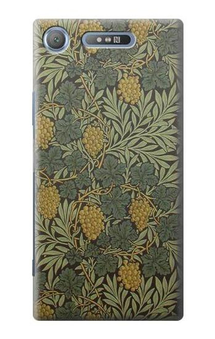 S3662 William Morris Vine Pattern Case For Sony Xperia XZ1 Compact