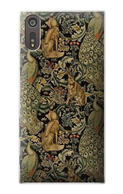 S3661 William Morris Forest Velvet Case For Sony Xperia XZ