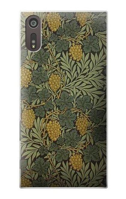 S3662 William Morris Vine Pattern Case For Sony Xperia XZ