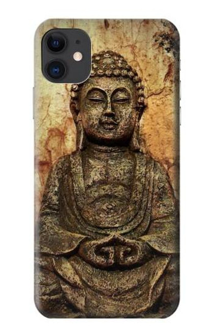 S0344 Buddha Rock Carving Case For iPhone 11