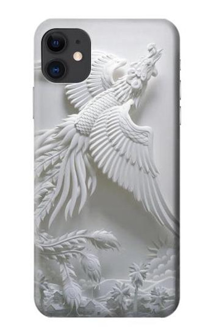 S0516 Phoenix Carving Case For iPhone 11