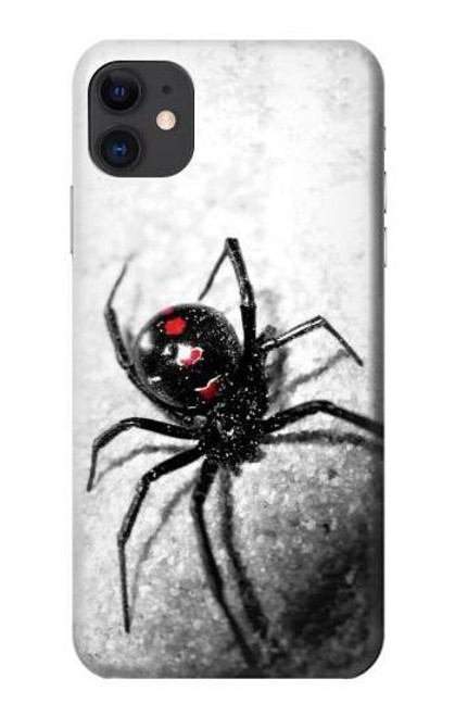 S2386 Black Widow Spider Case For iPhone 11