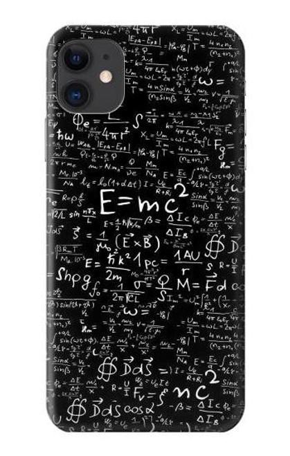 S2574 Mathematics Physics Blackboard Equation Case For iPhone 11
