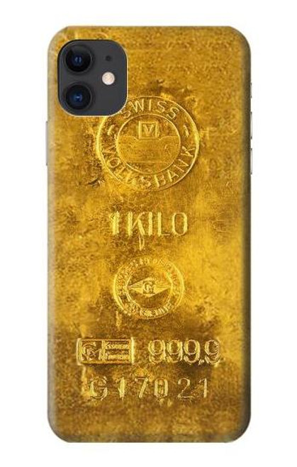 S2618 One Kilo Gold Bar Case For iPhone 11