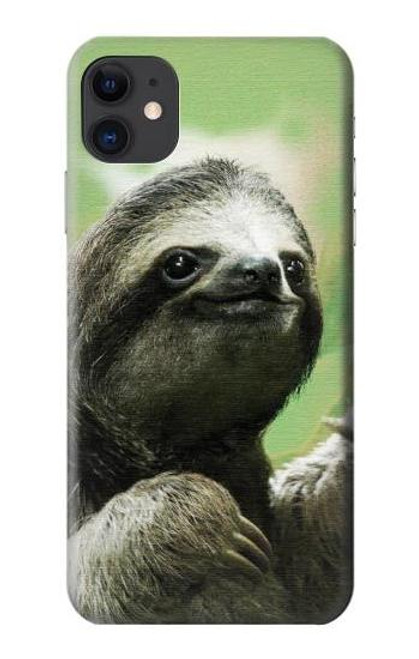 S2708 Smiling Sloth Case For iPhone 11