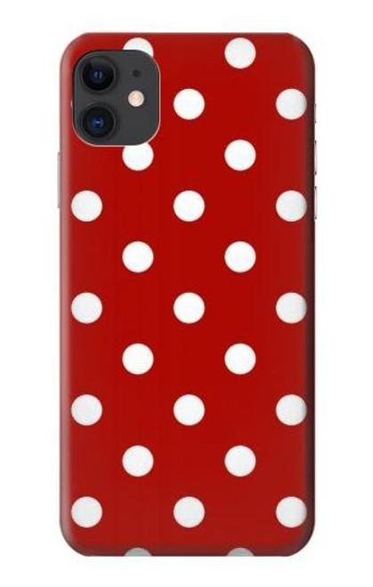 S2951 Red Polka Dots Case For iPhone 11