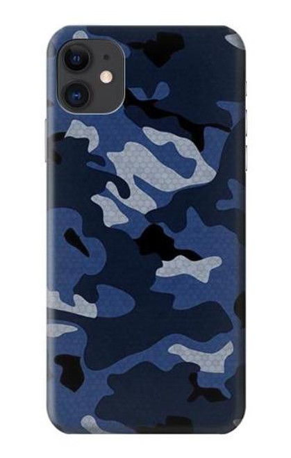 S2959 Navy Blue Camo Camouflage Case For iPhone 11
