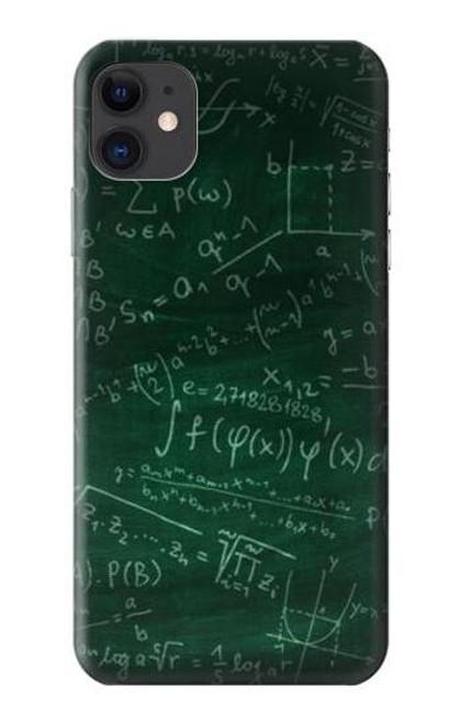 S3190 Math Formula Greenboard Case For iPhone 11