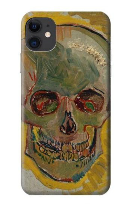 S3359 Vincent Van Gogh Skull Case For iPhone 11