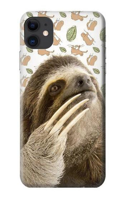 S3559 Sloth Pattern Case For iPhone 11
