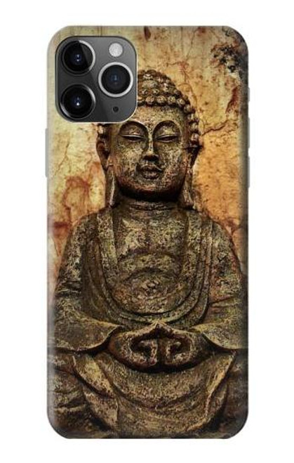 S0344 Buddha Rock Carving Case For iPhone 11 Pro