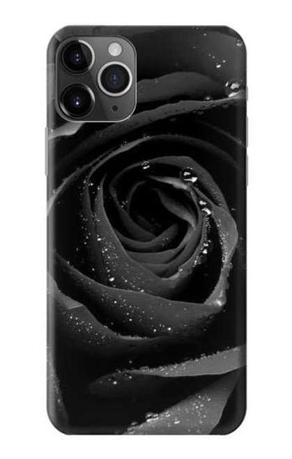 S1598 Black Rose Case For iPhone 11 Pro