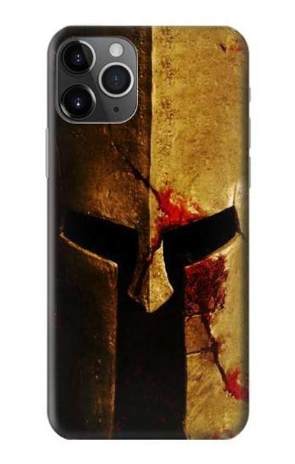 S2439 Warrior Spartan Helmet Case For iPhone 11 Pro