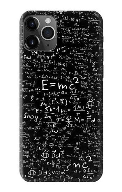 S2574 Mathematics Physics Blackboard Equation Case For iPhone 11 Pro
