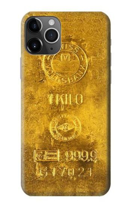 S2618 One Kilo Gold Bar Case For iPhone 11 Pro