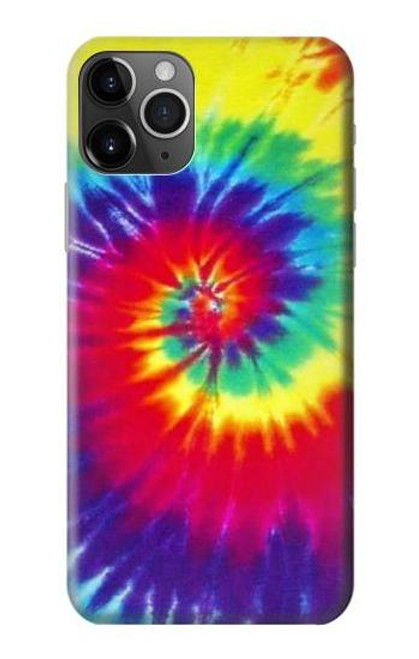 S2884 Tie Dye Swirl Color Case For iPhone 11 Pro