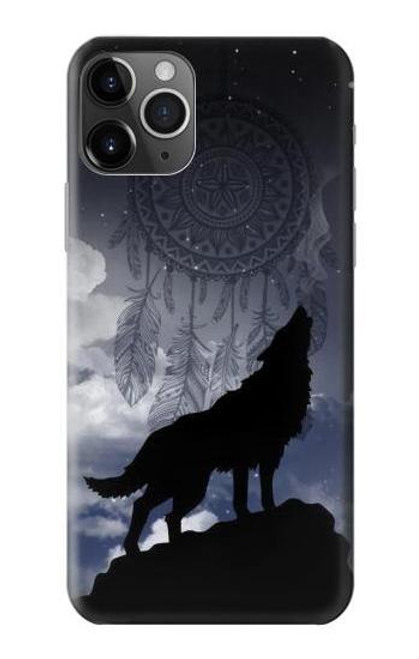 S3011 Dream Catcher Wolf Howling Case For iPhone 11 Pro