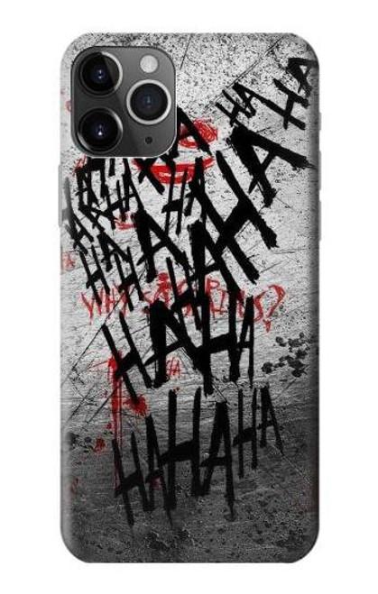 S3073 Joker Hahaha Blood Splash Case For iPhone 11 Pro