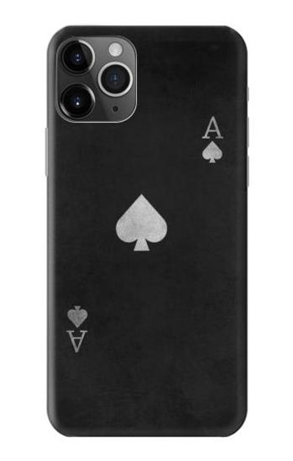 S3152 Black Ace of Spade Case For iPhone 11 Pro