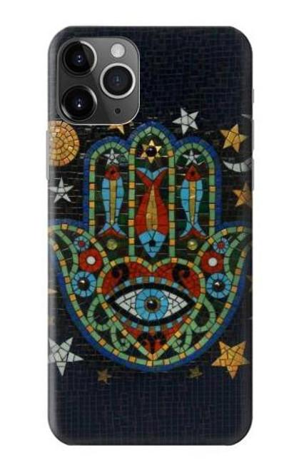 S3175 Hamsa Hand Mosaics Case For iPhone 11 Pro