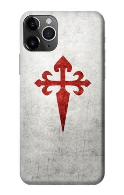 S3200 Order of Santiago Cross of Saint James Case For iPhone 11 Pro