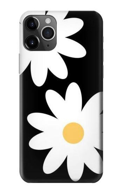 S2315 Daisy White Flowers Case For iPhone 11 Pro Max