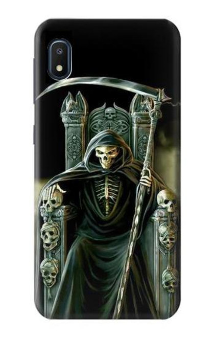 S1024 Grim Reaper Skeleton King Case For Samsung Galaxy A10e