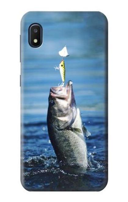 S1594 Bass Fishing Case For Samsung Galaxy A10e