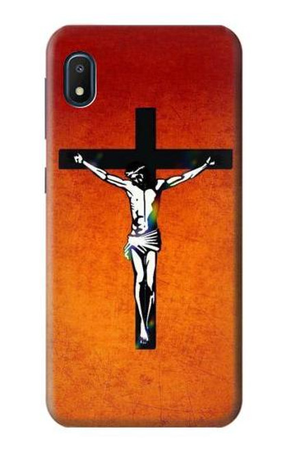 S2421 Jesus Christ On The Cross Case For Samsung Galaxy A10e