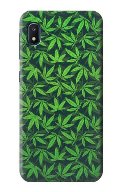 S2666 Marijuana Pattern Case For Samsung Galaxy A10e