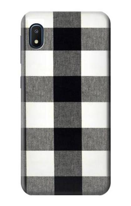 S2842 Black and White Buffalo Check Pattern Case For Samsung Galaxy A10e