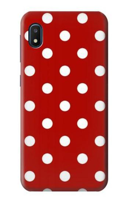 S2951 Red Polka Dots Case For Samsung Galaxy A10e