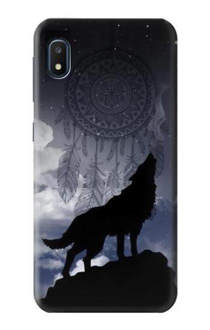 S3011 Dream Catcher Wolf Howling Case For Samsung Galaxy A10e